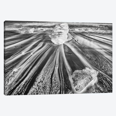 Iceland, Diamond Beach Canvas Print #JFO12} by John Ford Canvas Artwork
