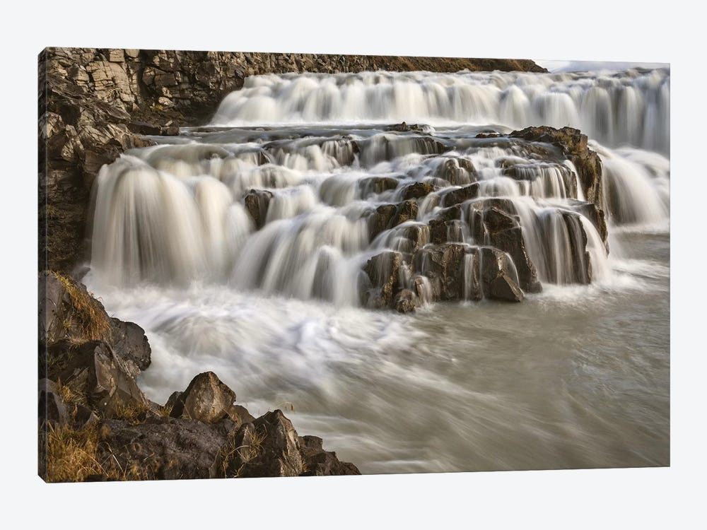 Iceland, Gullfoss, Golden Circle by John Ford 1-piece Canvas Art