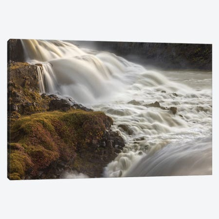 Iceland, Gullfoss, Golden Circle Canvas Print #JFO20} by John Ford Canvas Art Print