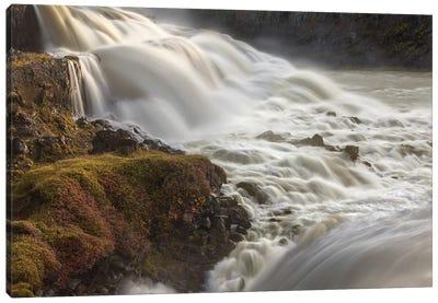 Iceland, Gullfoss, Golden Circle Canvas Art Print