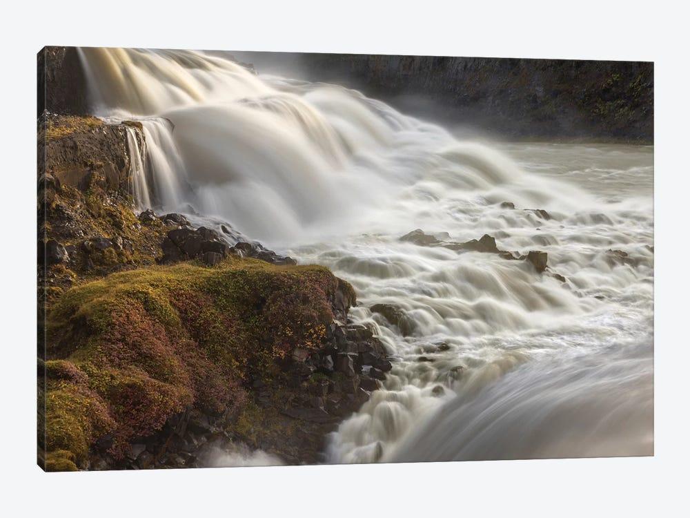 Iceland, Gullfoss, Golden Circle by John Ford 1-piece Canvas Print