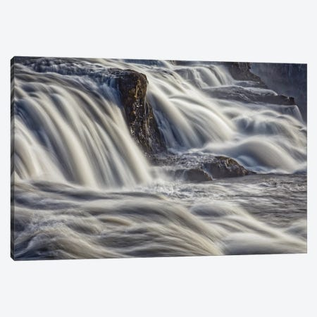 Iceland, Gullfoss, Golden Circle Canvas Print #JFO21} by John Ford Art Print