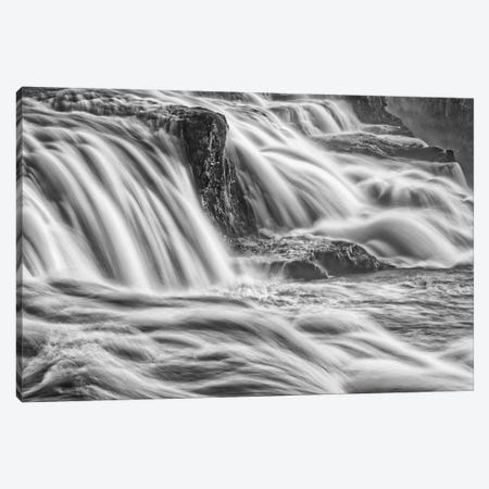 Iceland, Gullfoss, Golden Circle Canvas Print #JFO22} by John Ford Canvas Print
