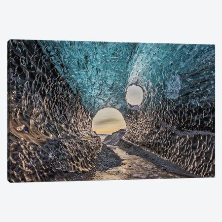 Iceland, Jokulsarlon Glacier Canvas Print #JFO23} by John Ford Canvas Print