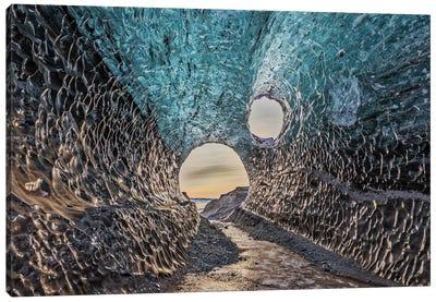Iceland, Jokulsarlon Glacier Canvas Art Print