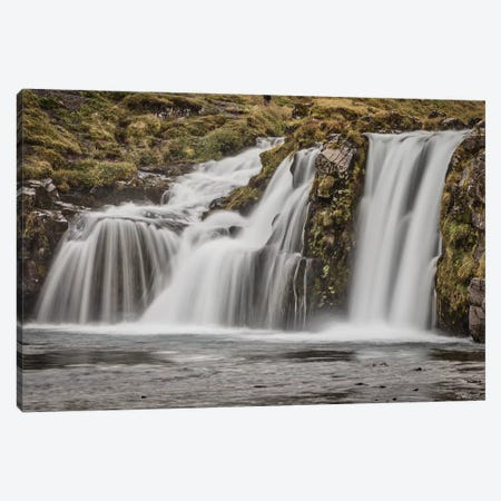 Iceland, Kirkjufellsfoss Canvas Print #JFO24} by John Ford Canvas Art