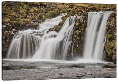 Iceland, Kirkjufellsfoss Canvas Art Print