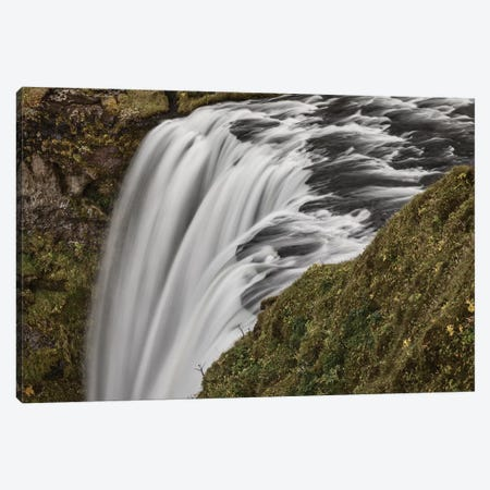 Iceland, Skogafoss Canvas Print #JFO32} by John Ford Canvas Wall Art