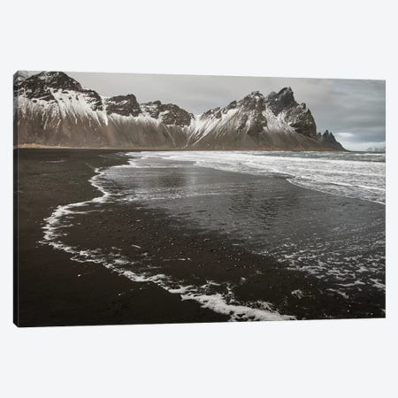 Iceland, Stokknes, Mt. Vestrahorn Canvas Print #JFO34} by John Ford Canvas Print