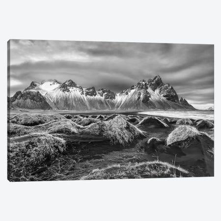 Iceland, Stokknes, Mt. Vestrahorn Canvas Print #JFO35} by John Ford Canvas Print