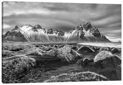 Iceland, Stokknes, Mt. Vestrahorn Canvas Art Print