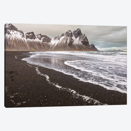 Iceland, Stokksnes, Mt. Vestrahorn Canvas Print #JFO37} by John Ford Canvas Print