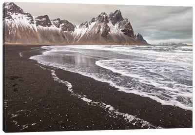Iceland, Stokksnes, Mt. Vestrahorn Canvas Art Print