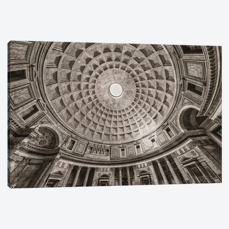 Italy, Pantheon Canvas Print #JFO41} by John Ford Canvas Print
