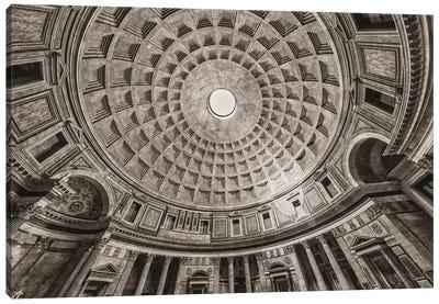 Italy, Pantheon Canvas Art Print