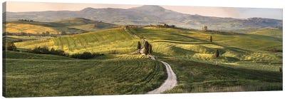 Italy, Tuscany, Val D'Orcia Canvas Art Print