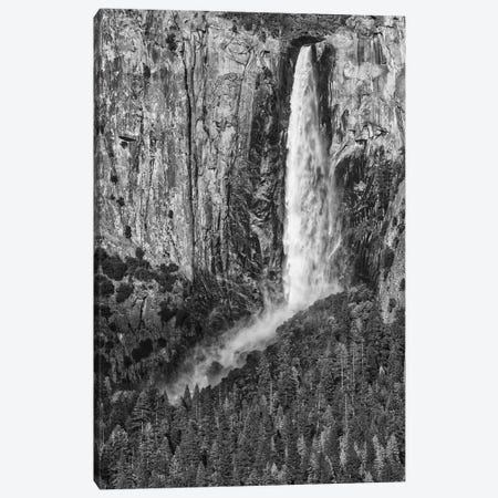 Usa, California, Yosemite, Bridal Veil Falls Canvas Print #JFO44} by John Ford Canvas Artwork