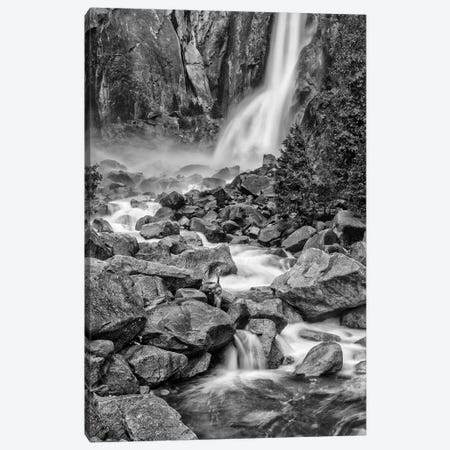Usa, California, Yosemite, Bridlevale Falls Canvas Print #JFO45} by John Ford Canvas Art