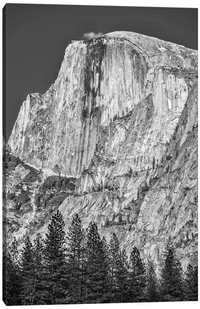 Usa, California, Yosemite, Half Dome Canvas Art Print