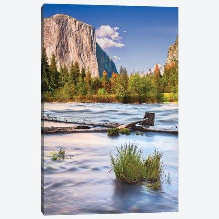 Usa, California, Yosemite, Valley View Canvas Print #JFO56} by John Ford Canvas Print