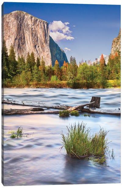 Usa, California, Yosemite, Valley View Canvas Art Print