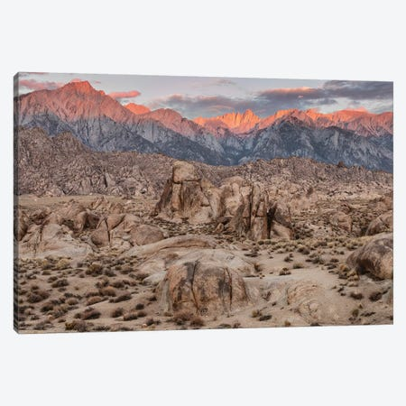 Usa, Eastern Sierra, Alabama Hills Canvas Print #JFO58} by John Ford Canvas Artwork