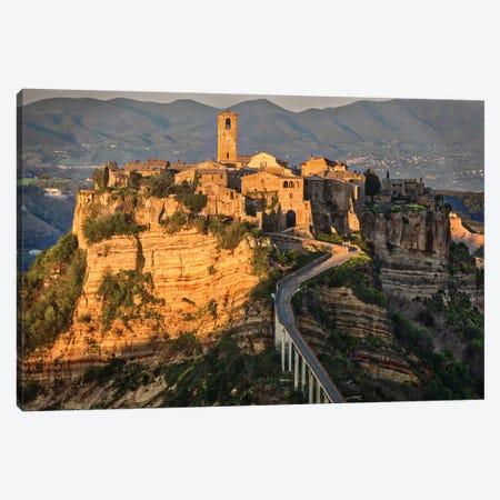 Europe, Italy, Civita Di Bagnoregio Canvas Print #JFO6} by John Ford Canvas Print
