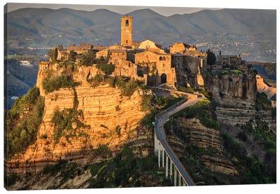 Europe, Italy, Civita Di Bagnoregio Canvas Art Print