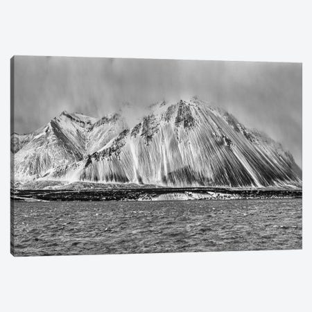 Iceland in winter. Canvas Print #JFO70} by John Ford Canvas Artwork