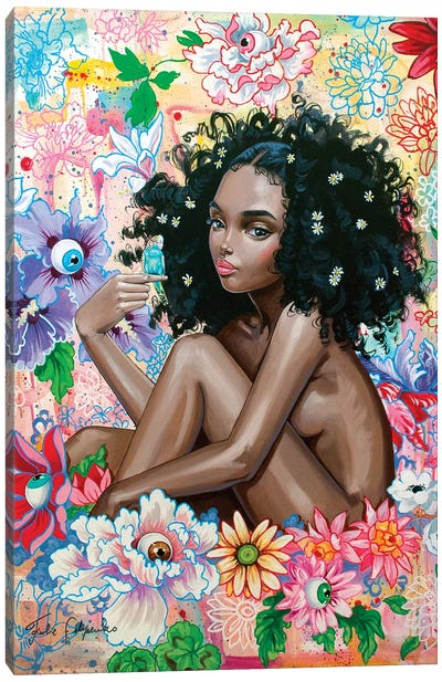 A Lingering Daydream Canvas Art Print
