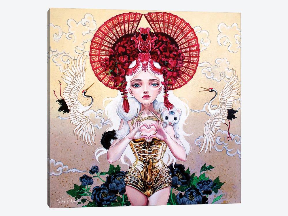 Focusing Into Expansion by Julie Filipenko 1-piece Canvas Art Print
