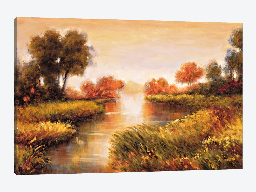 Pond At Daybreak by Jeffrey Leonard 1-piece Art Print