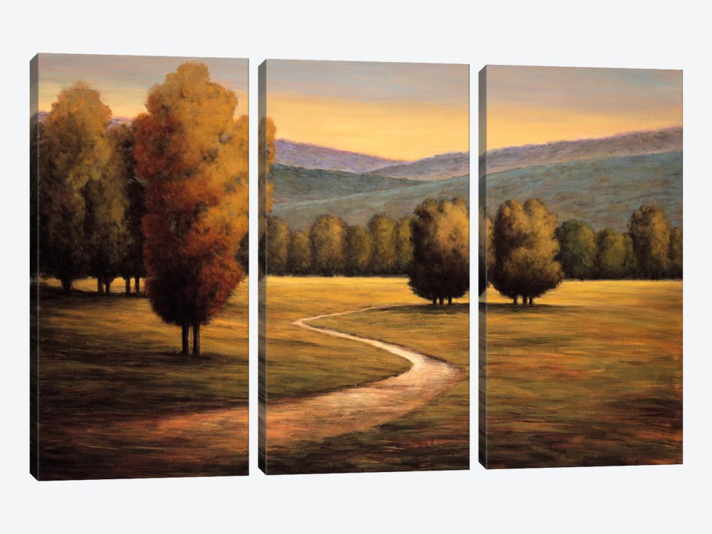Brand New Day I 3-piece Canvas Art Print