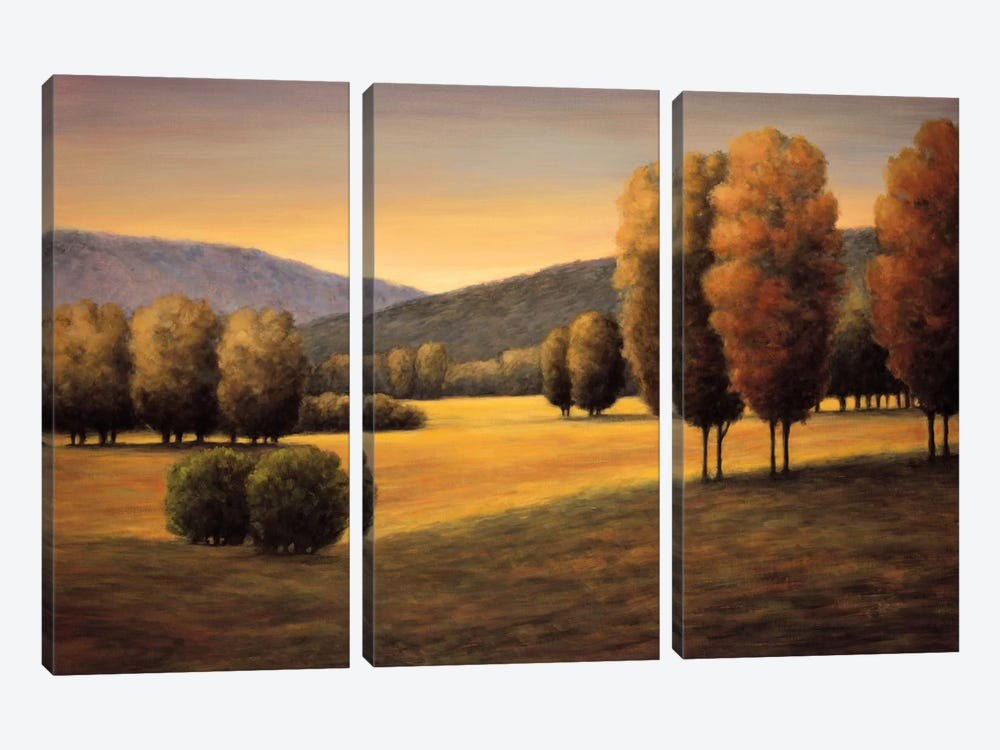 Brand New Day II by Jeffrey Leonard 3-piece Canvas Art