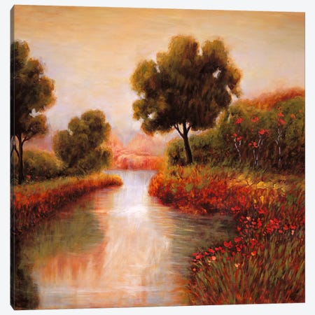 Idyllic II Canvas Print #JFR6} by Jeffrey Leonard Canvas Print