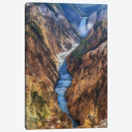 The Yellowstone Canvas Print #JFS25} by Jeffrey C. Sink Canvas Art