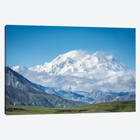 Mt. Denali - Alaska 20,310 Feet Canvas Print #JFS7} by Jeffrey C. Sink Canvas Art