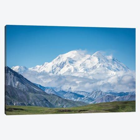 Mt. Denali - Alaska 20,310 Feet Canvas Print #JFS7} by Jeffrey C. Sink Canvas Art