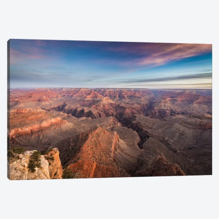South Rim Sunrise Canvas Print #JFS8} by Jeffrey C. Sink Canvas Print