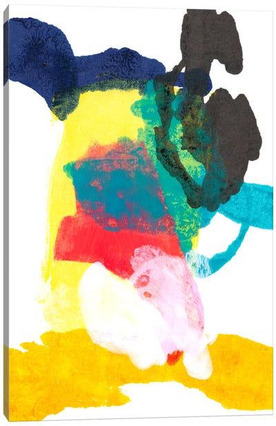Paint Bloom II Canvas Art Print