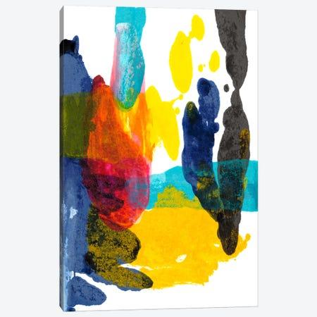 Paint Bloom III Canvas Print #JFU11} by Jodi Fuchs Canvas Wall Art