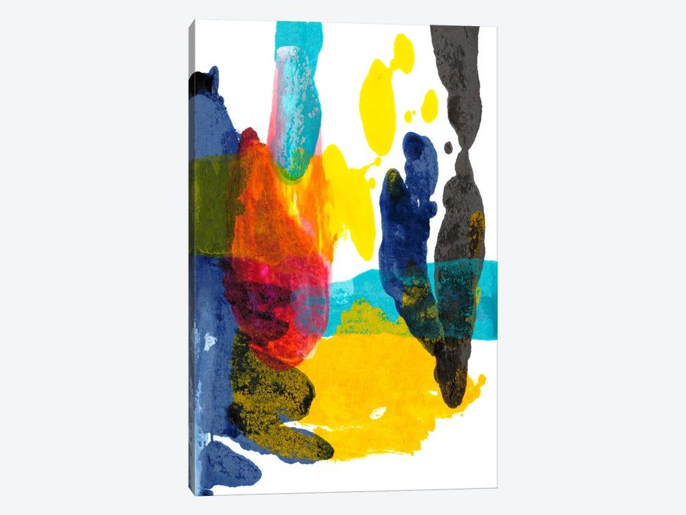 Paint Bloom III by Jodi Fuchs 1-piece Canvas Wall Art