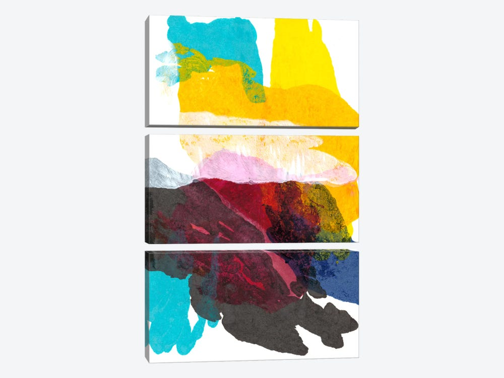 Paint Bloom IV by Jodi Fuchs 3-piece Art Print