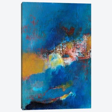 Rhapsody In Blue I Canvas Print #JFU15} by Jodi Fuchs Canvas Print