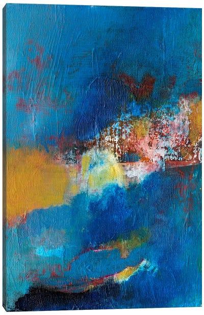 Rhapsody In Blue I Canvas Art Print
