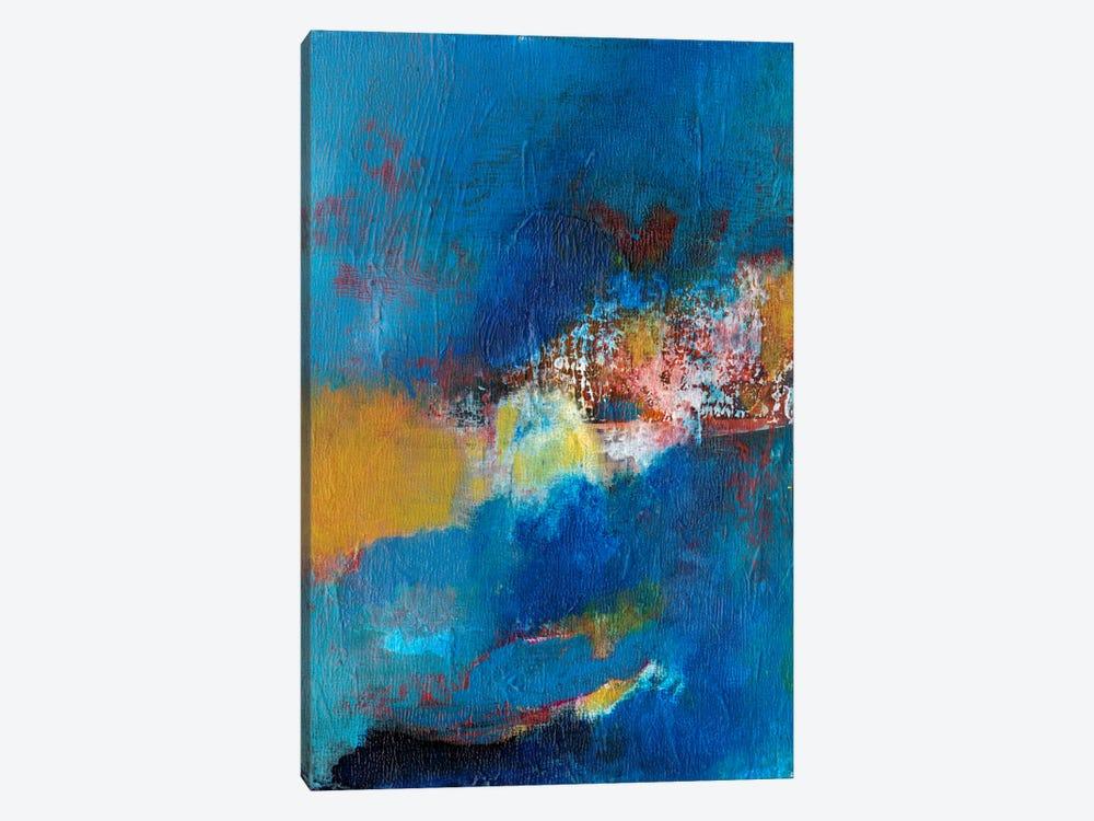 Rhapsody In Blue I by Jodi Fuchs 1-piece Canvas Artwork