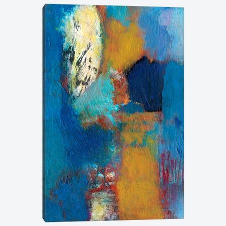 Rhapsody In Blue II 3-Piece Canvas #JFU16} by Jodi Fuchs Art Print