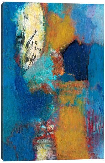 Rhapsody In Blue II Canvas Art Print