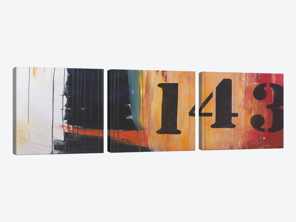 Billboard For Love III by Jodi Fuchs 3-piece Art Print