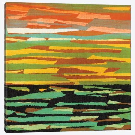 Torn V Canvas Print #JFU33} by Jodi Fuchs Canvas Artwork